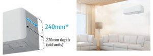 Ace Heat Pumps Christchurch Fujitsu authorised supplier and installer of fujitsu heat pump wall mount kmtc SLIM